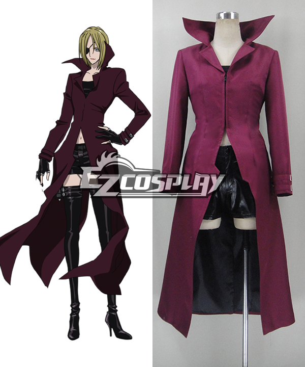 Blood Blockade Battlefront K·K Cosplay Costume