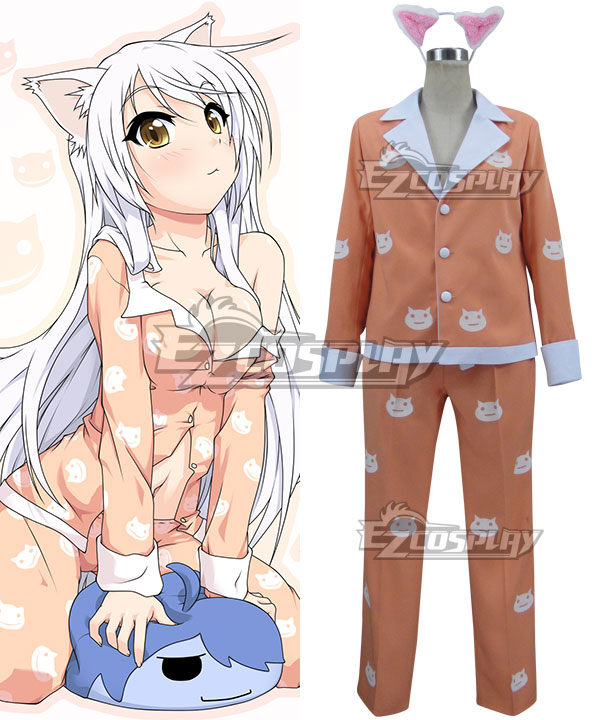 Bakemonogatari Nekomonogatari White Tsubasa Hanekawa Black Hanekawa Cosplay Costume None
