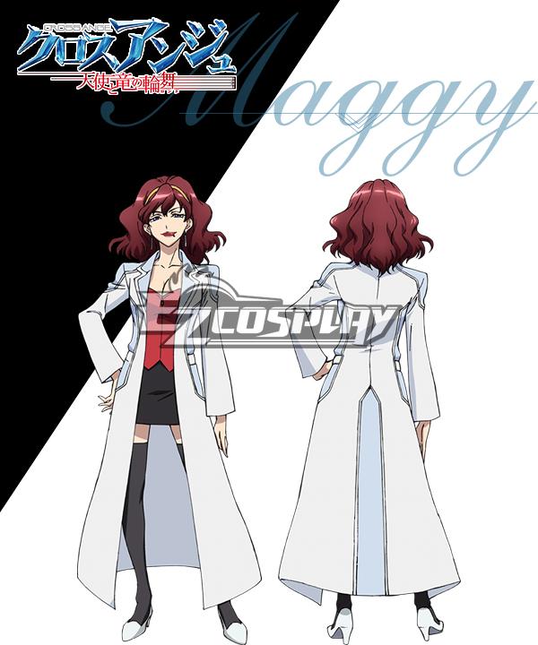 Cross Ange Tenshi to Ryu no Rinbu Maggy Cosplay Costume