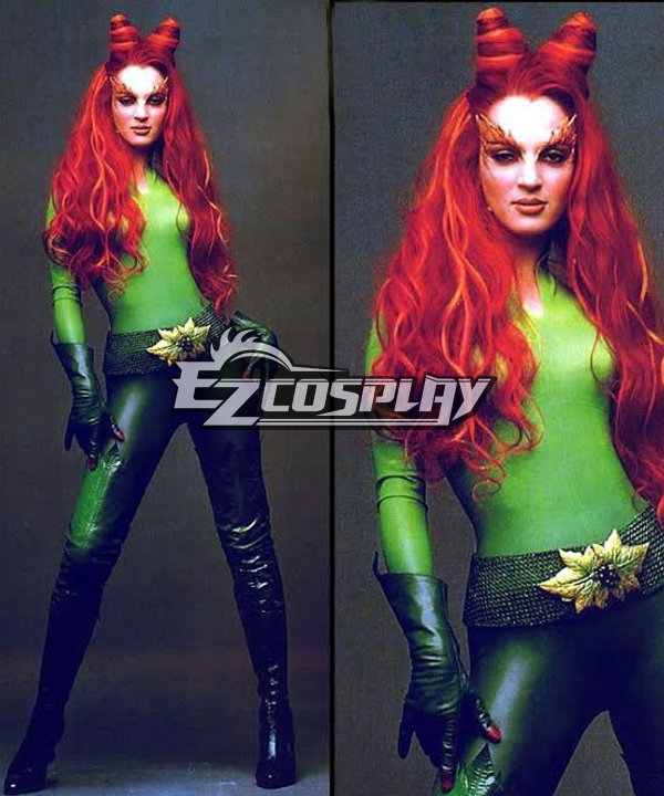 Batman and Robin Poison Ivy Cosplay Costume