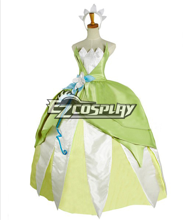 Disney Princess and the Frog Princess Tiana cosplay costume ECM0155