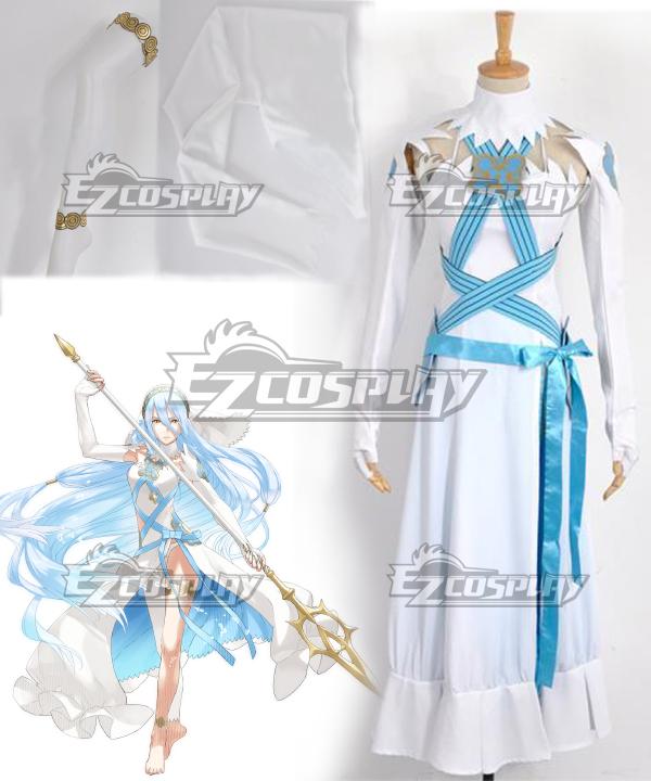 Fire Emblem If Fates Birthright Aqua Dress Cosplay Costume