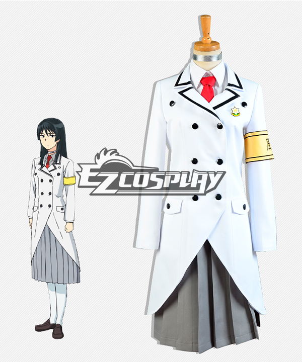 Shimoneta: A Boring World Where the Concept of Dirty Jokes Doesn't Exist Oboro Tsukimigusa Cosplay Costume ECM0187