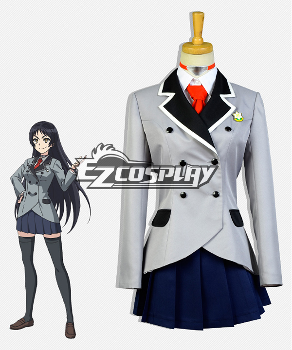 Shimoneta: A Boring World Where the Concept of Dirty Jokes Doesn't Exist Ayame Kajo Cosplay Costume ECM0188