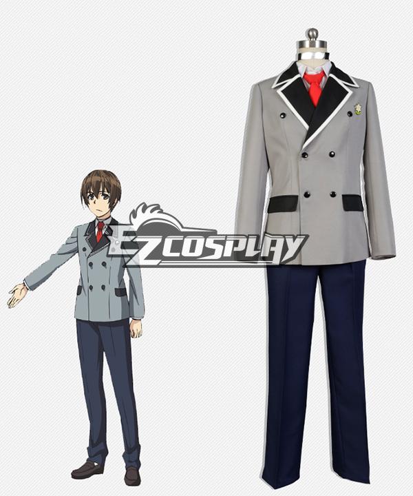 Shimoneta: A Boring World Where the Concept of Dirty Jokes Doesn't Exist Tanukichi Okuma Cosplay Costume None