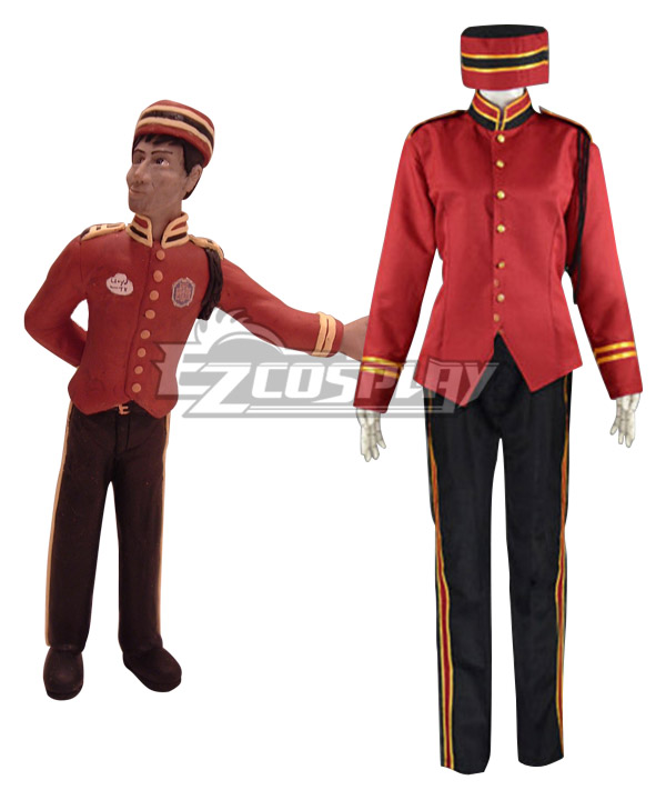 The Twilight Zone Tower of Terror The Waiter Cosplay Costume