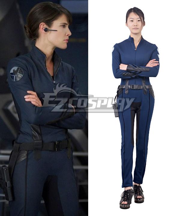 Agents of S.H.I.E.L.D. Deputy Director Maria Hill Uniform Cosplay Costume