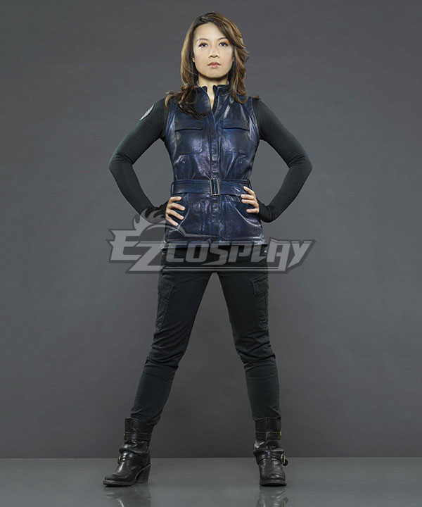 Marvel Agents of S.H.I.E.L.D. The Cavalry Agent Melinda May Cosplay Costume ECM0248
