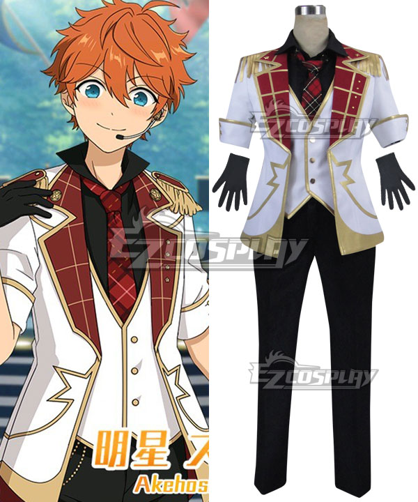 Ensemble Stars Judge! Black and White Duel Subaru Akehoshi Makoto Yuuki Cosplay Costume None