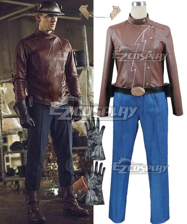 ECM0322 DC Comics The Flash Jay Garrick Jason Peter Cosplay Costume