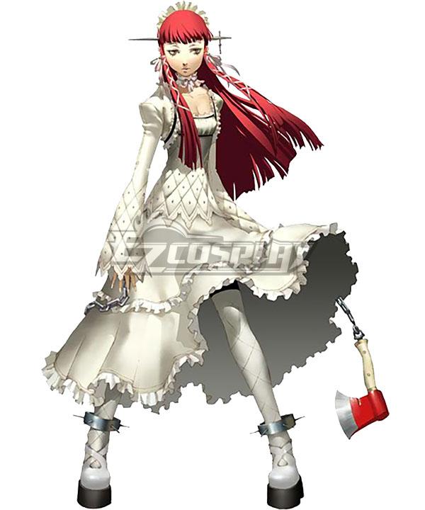 ECM0326 Persona 3  Chidori Yoshino White Dress Cosplay Costume