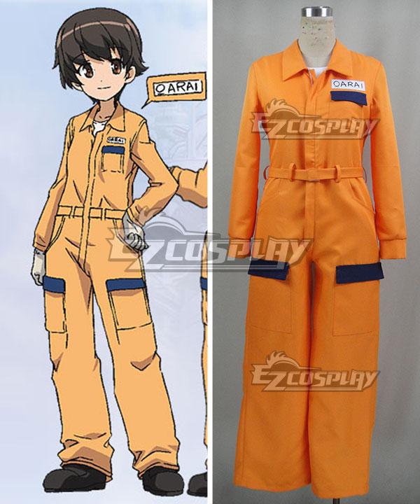 ECM0331 Girls und Panzer Leopon Team Satoko Nakajima Suzuki Hoshino Tsuchiya Cosplay Costume