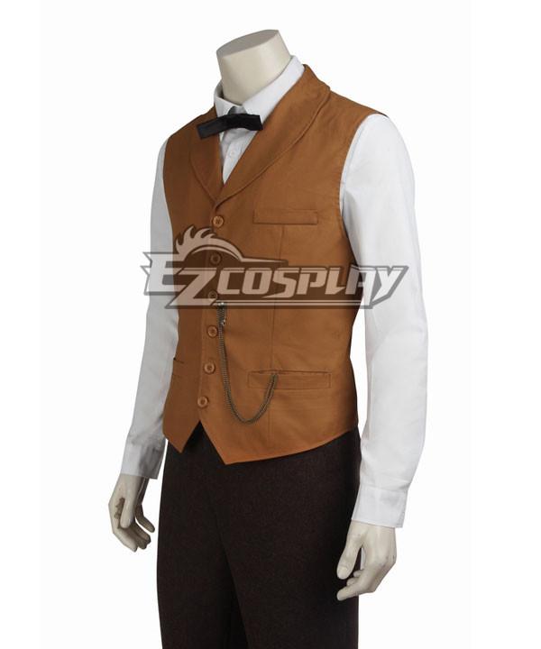 Men's Vintage Vests, Sweater Vests Fantastic Beasts and Where to Find Them Newt Scamander Cosplay Costume - Only Vest $31.99 AT vintagedancer.com