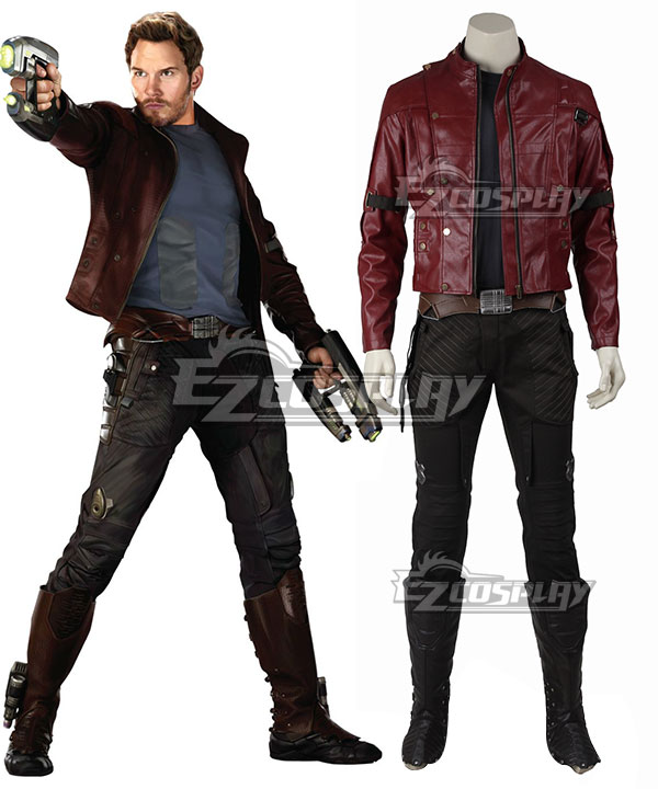 Marvel Guardians of the Galaxy Star-Lord Peter Jason Quill Cosplay Costume None