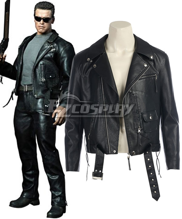 Terminator 2: Judgment Day T-800 Coat Cosplay Costume None