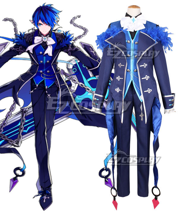 Anime Costumes ECM0446 Elsword Ciel Cosplay Costume