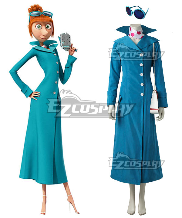 Anime Costumes ECM0447 Despicable Me 3 Lucy Cosplay Costume