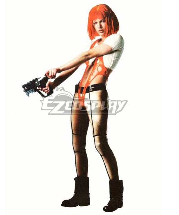 The Fifth Element Leeloo Cosplay Costume None