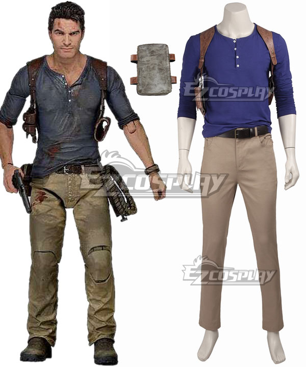 Nathan Drake Costume From Uncharted Diy Guide For Cosplay