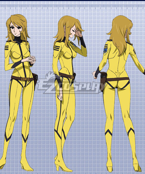 Space Battleship Yamato 2199 Yuki Mori Cosplay Costume None