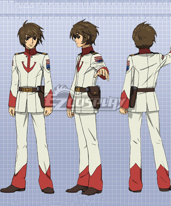 Space Battleship Yamato 2199 Susumu Kodai Cosplay Costume None