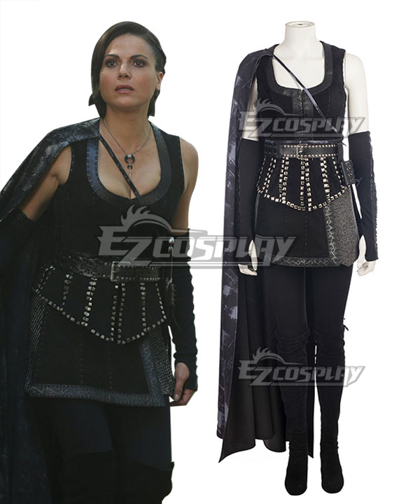 Once Upon A Time Regina Mills New Cosplay Costume - No Boots ECM0597