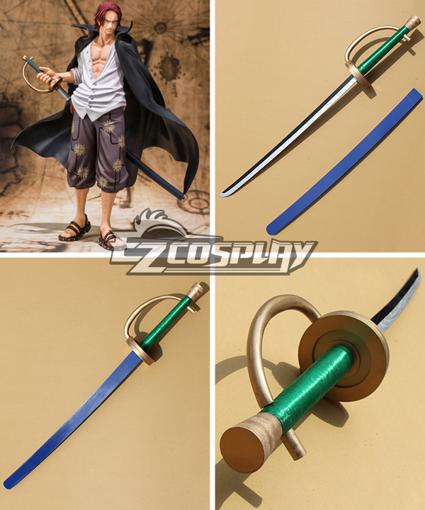 One Piece Wan Pisu Red Haired Shanks Cosplay Weapon