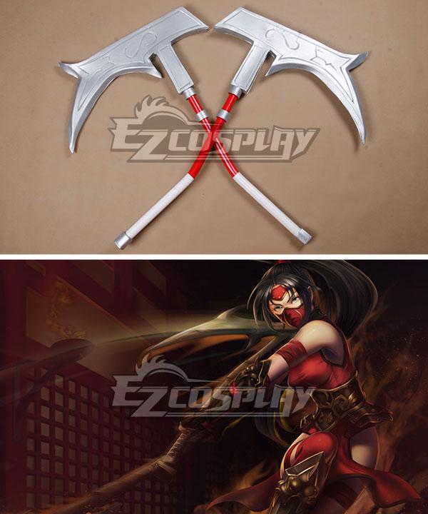 League of Legends Nurse Akali Cosplay Weapon Prop