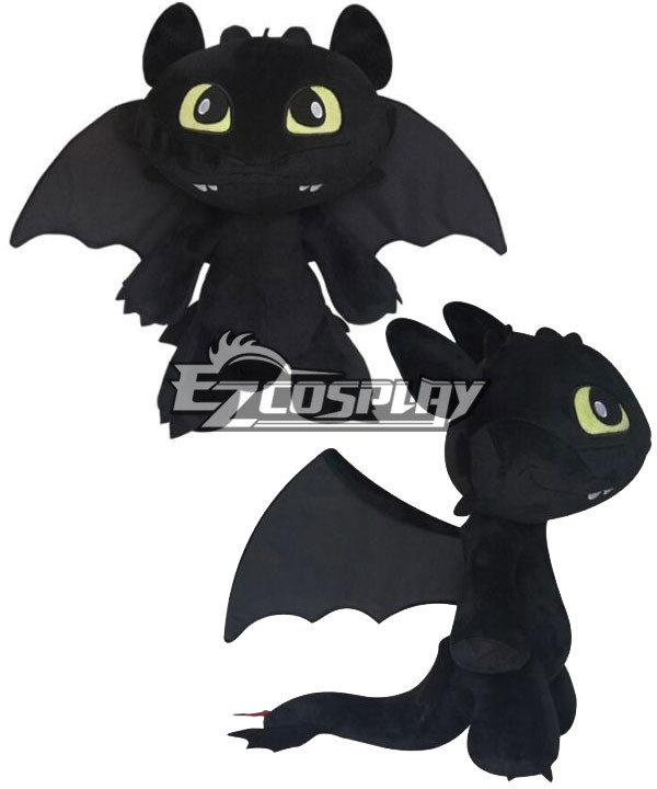 How to Train Your Dragon 2 Toothless Toy Boys Kids Birthday Gifts Home Decor New None