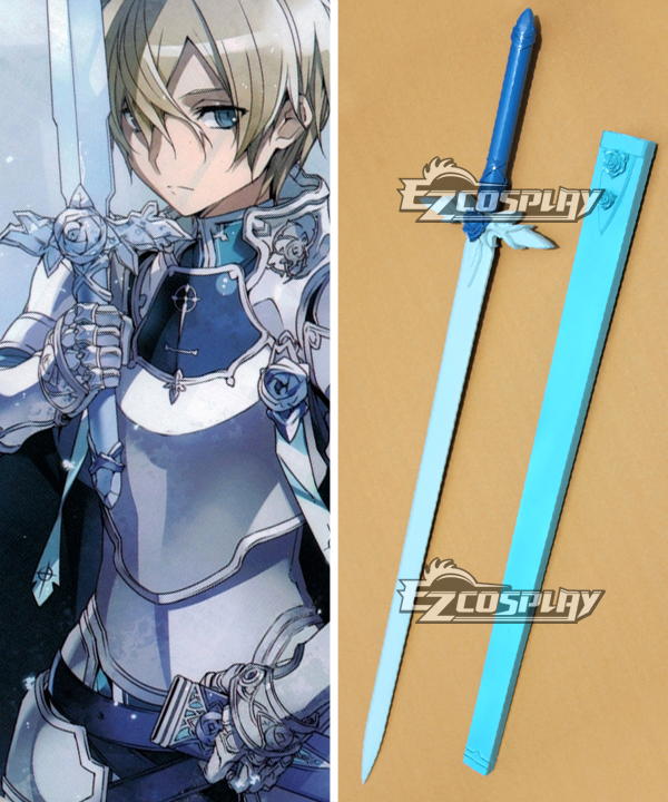 Sword Art Online Under World Alicization SAO UW Eugeo Artifact Green Rose Sword B Cosplay Weapon