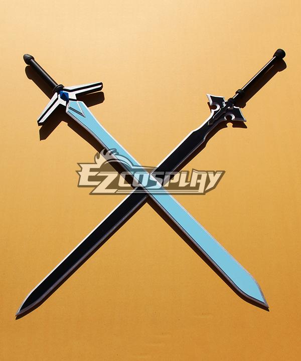 Sword Art Online Alfheim Online Original Sword Skill SAO ALO OSS Kirigaya Kazuto Kirito White&Black Sword Cosplay Weapon
