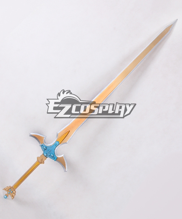 Sword Art Online ALfheim Online SAO ALO Kirigaya Kazuto Kirito Excalibur Sword Animated Version Cosplay Weapon None