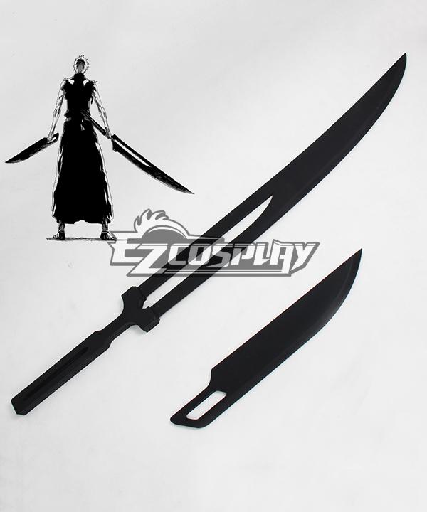 Bleach Kurosaki Ichigo Soul Knife Cut Zangetsu New Sword Cosplay Weapon