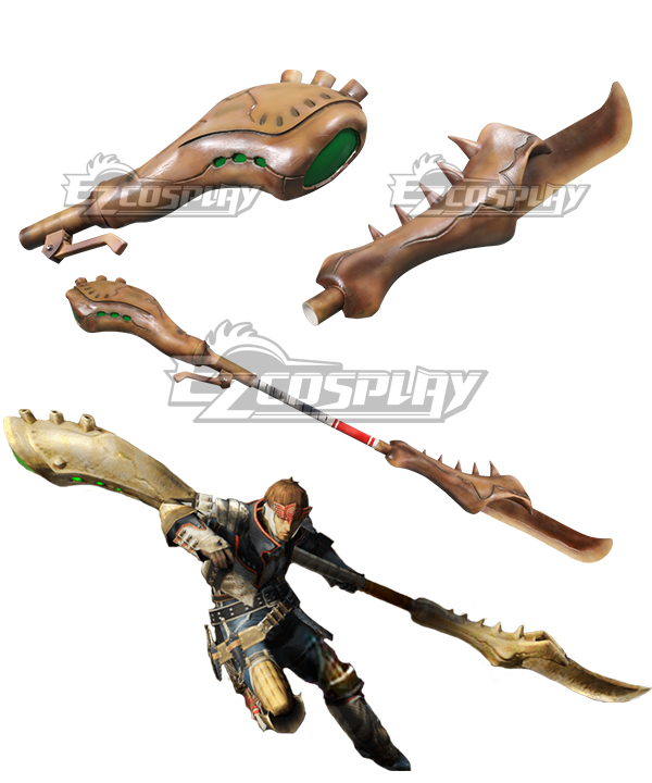 Monster Hunter 4 Insect Glaive Insect Taming Staff Insect Operating Rod Neopteron Handler Insect Rod Cosplay Prop