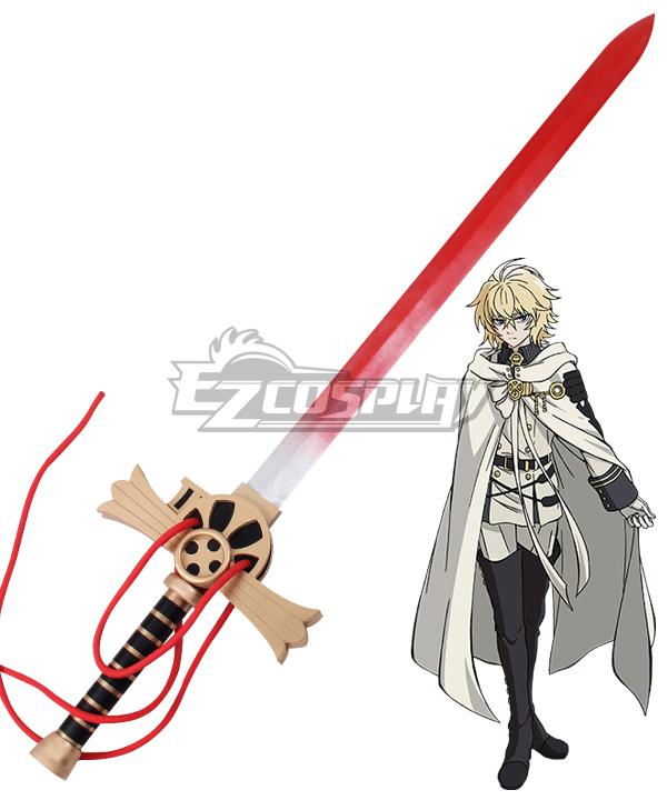 Seraph of the End Owari no Serafu Vampire Reign Mikaela Hyakuya Sword Cosplay Weapon