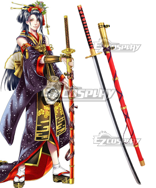 Image of Touken Ranbu Jiro Tachi Sword Cosplay Weapon