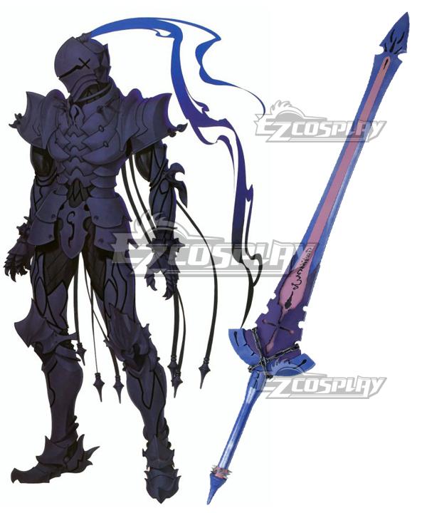Fate/Zero Lancelot Berserker Sword Cosplay Weapon