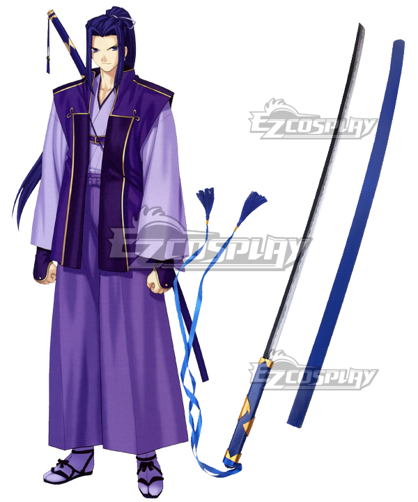Fate/Stay Night Unlimited Blade Works UBW Kojirou Sasaki Assassin New Sword Cosplay Weapon None