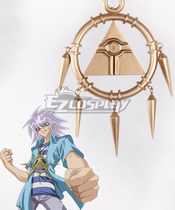 Image of YuGiOh Duel Monsters Ryo Bakura Necklace Cosplay Prop