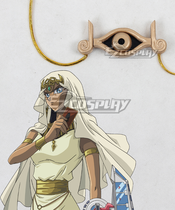 Image of YuGiOh Duel Monsters Isis Ishtar Necklace Cosplay Prop