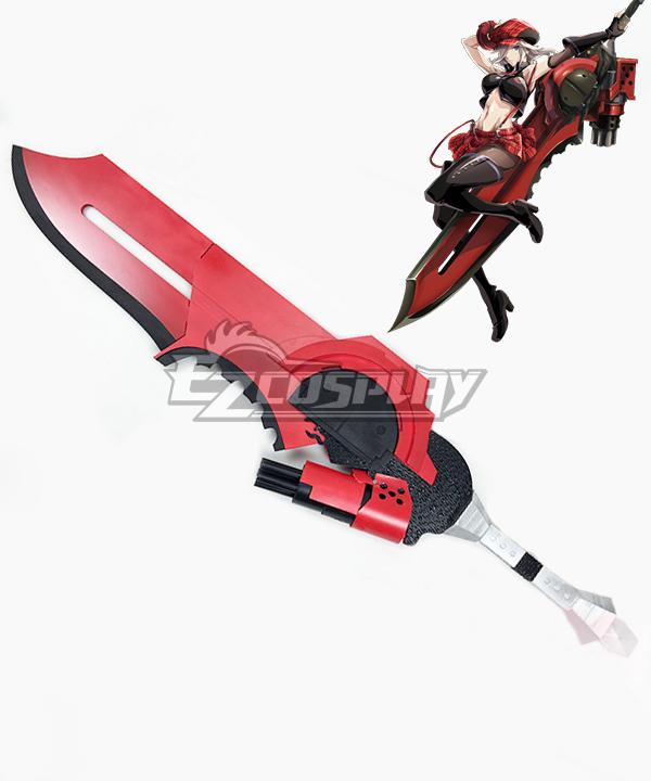 God Eater Alisa Ilyinichna Omela Jinki Swords Cosplay Prop