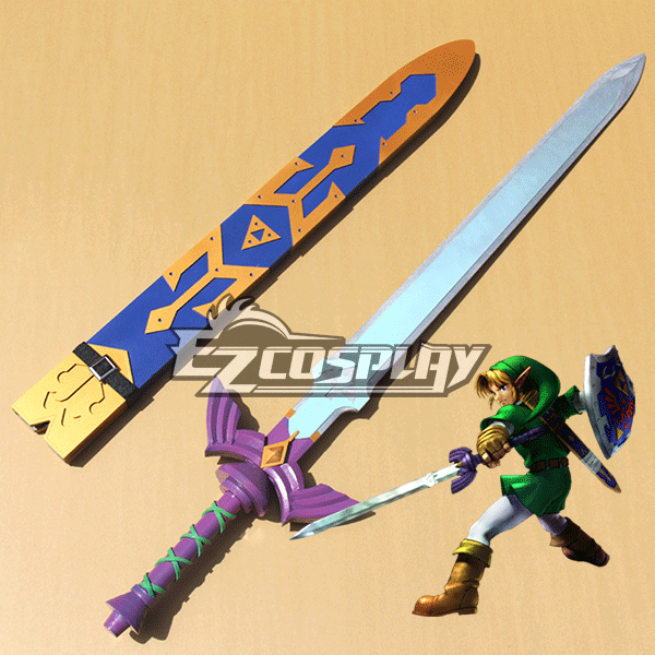 The Legend of Zelda Zeruda no Densetsu Skyward Sword Link Sword Cosplay Prop None
