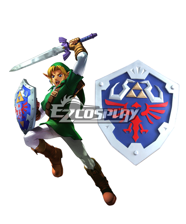 The Legend of Zelda Zeruda no Densetsu Skyward Sword Link Shield Cosplay Prop None