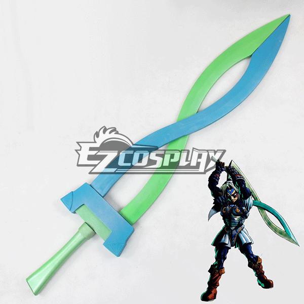 The Legend of Zelda: Majora's Mask Link Sword Cosplay Prop None