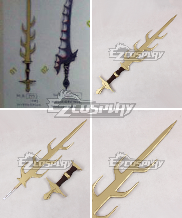 Fire Emblem Awakening Asama Sword Cosplay Weapon Prop