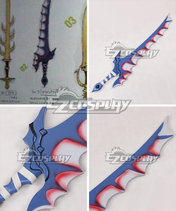 Fire Emblem Awakening Dragon Slayer Sword Cosplay Weapon Prop