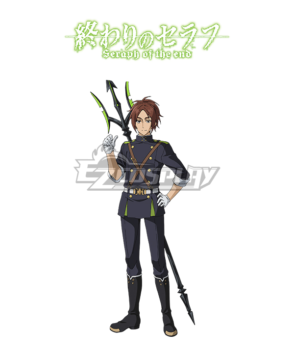 Seraph of the End Battle in Nagoya Owari no Serafu Vampire Reign Makoto Narumi Trident Cosplay Weapon Prop