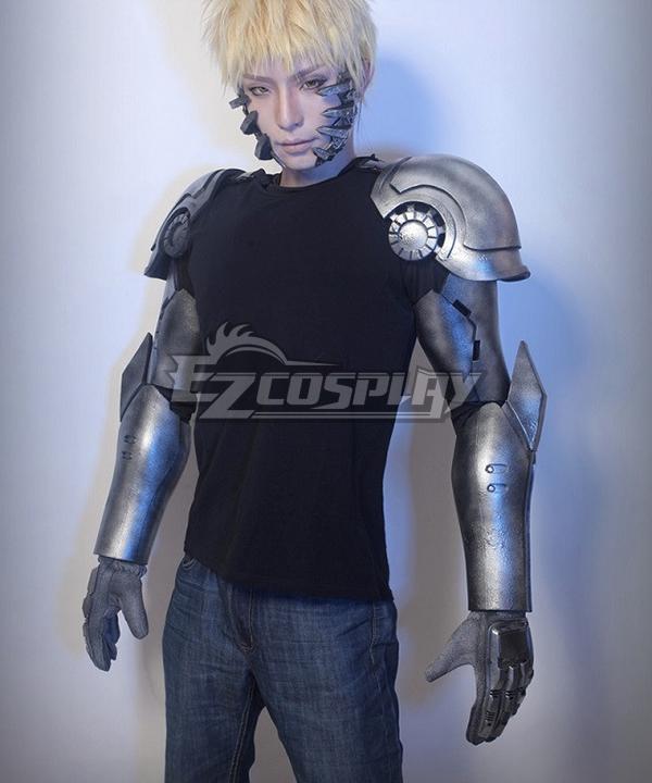 One Punch Man Genos Demon Cyborg Oni Saibogu Armor Cosplay Accessory Prop