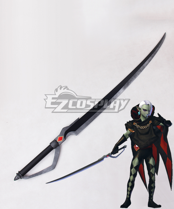The Legend of Zelda Skyward Sword Ghirahim Swords Cosplay Weapon Prop None