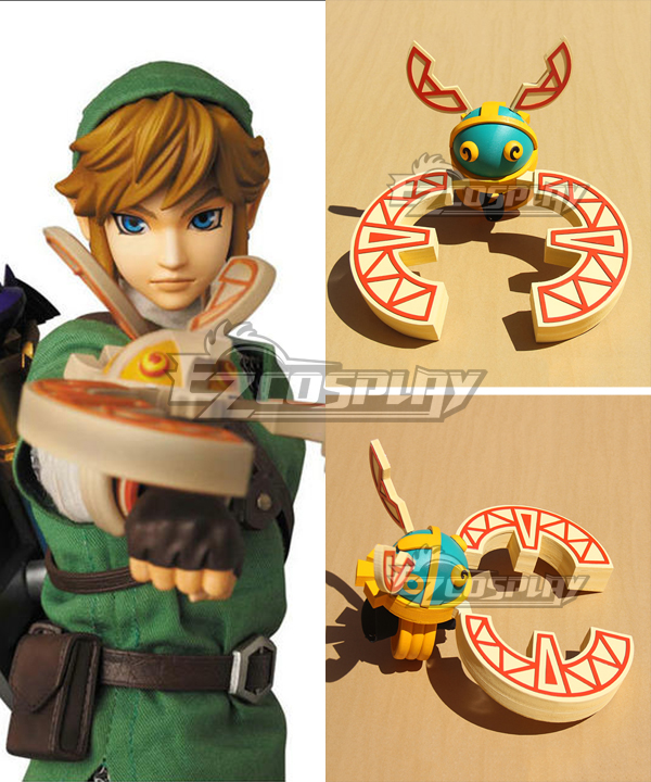 The Legend of Zelda Skyward Sword Link Cuff Cosplay Weapon Prop None